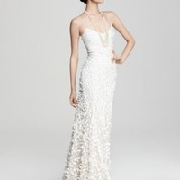 Theia Crepe Petal Gown - Bride - Ceremony - The Wedding Shop - LOOKBOOKS - Fashion Index - Bloomingdale's