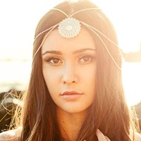 Womens Head Chain Jewelry Headband Hair Band