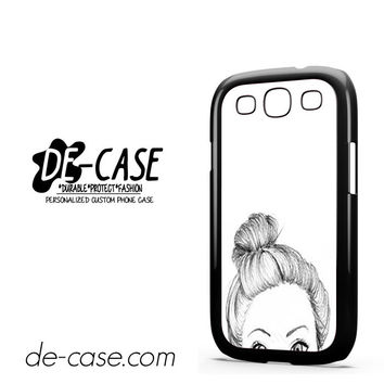Half Cute Face For Samsung Galaxy S3 Case Phone Case Gift Present YO