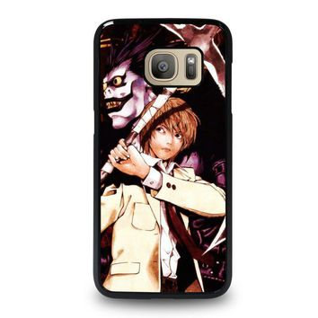 death note ryuk and light samsung galaxy s7 case cover  number 1