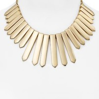 BAUBLEBAR Ra Bib Necklace, 16"
