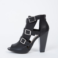 Buckle Up Ankle Boots