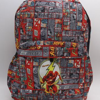 New DC Superheros The Flash School Bag Color Printing Laptop Backpack Bags Shoulder Travel Bags Work Leisure Fashion Bag