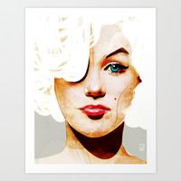 Marilyn Monroe Art Print by Ed Pires