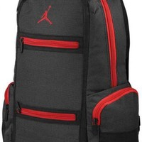 Nike Air Jordan Backpack Bag Laptop Black Red Men Women Boys Girls School Book