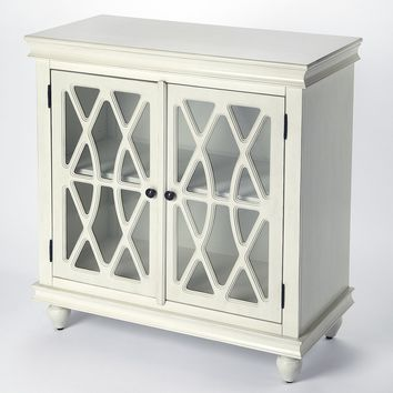 Lansing Off White Accent Cabinet