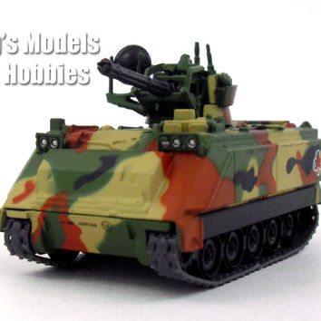M163 Vulcan Air Defense System - VADS - SPAAG 1/72 Scale Diecast Model by Eaglemoss