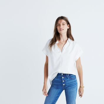 Central Shirt in Pure White : | Madewell