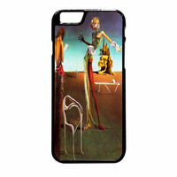 Salvador Dali Woman With A Head Of Roses iPhone 6 Plus Case