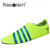 RECOISIN Men Women Beach Barefoot Skin Shoes Outdoor Swimming Water Shoes Wading Shoes Unisex Lover Couple Soft Office Shoes 776