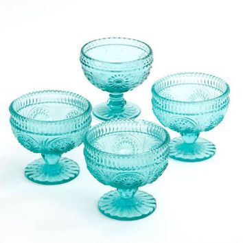 The Pioneer Woman Adeline 10 oz Glass Sundae Cups, Set of 4 - Walmart.com