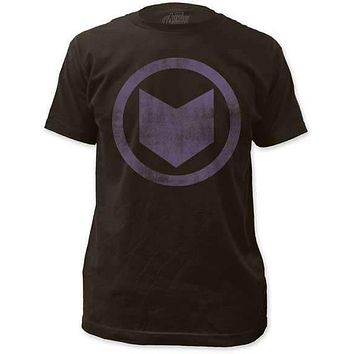 HAWKEYE DISTRESSED ICON MENS LIGHTWEIGHT TEE