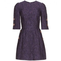 dolce & gabbana - brocade dress