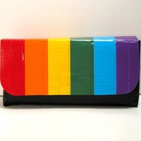 Rainbow Duct Tape Pouch