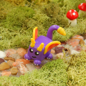 CLEARANCE: Spyro Inspired Dragon Cube Chibi Polymer Clay