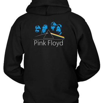 Pink Floyd Facer Hoodie Two Sided