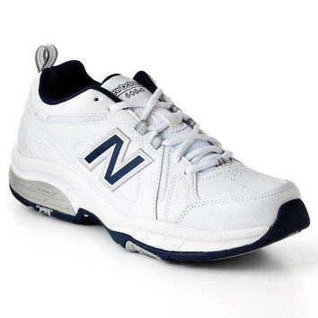 DCCK1IN new balance 608 cross trainers men white