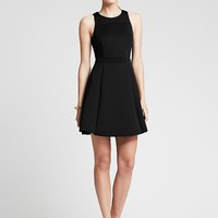 Banana Republic Womens Monogram Stretch Fit And Flare Dress