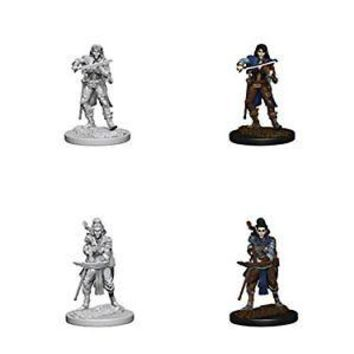 Pathfinder Roleplaying Game Unpainted Miniatures: Elf Female Bard