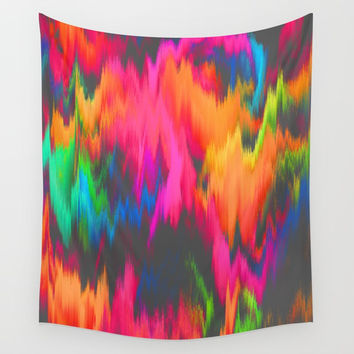 Rainbow Sweat Wall Tapestry by J.Lauren