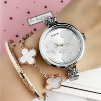 TOUS Women Fashion Quartz Movement Wristwatch Watch