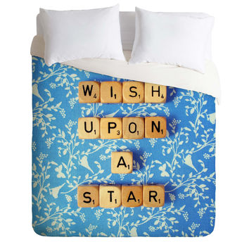 Happee Monkee Wish Upon A Star 1 Duvet Cover