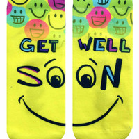 Get Well Soon Ankle Socks