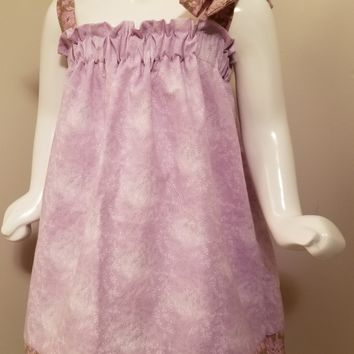 Lavendar Flower Dress