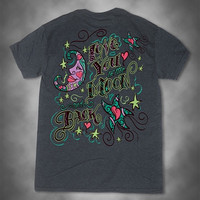 SALE Sweet Thing I Love You to the Moon and Back Girlie Bright T-Shirt