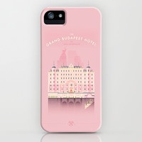 The Grand Budapest Hotel iPhone & iPod Case by Lorena G | Society6