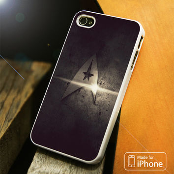 Gold Star Trek Logo Light iPhone 4(S),5(S),5C,SE,6(S),6(S) Plus Case