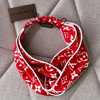 LV Crossing hairband around the edge Headband
