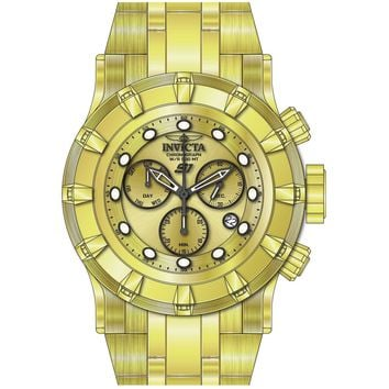 Invicta Men's 23953 S1 Rally Quartz Chronograph Gold Dial Watch