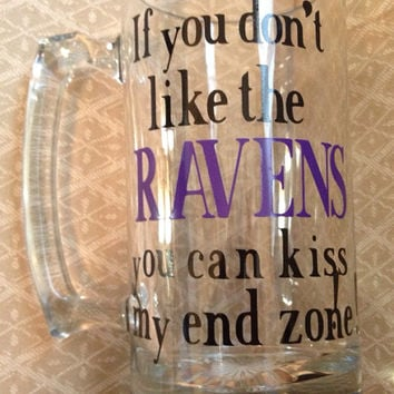 Personalized Beer Mug, NFL Beer Mug, Custom Beer Mug, Football Mug