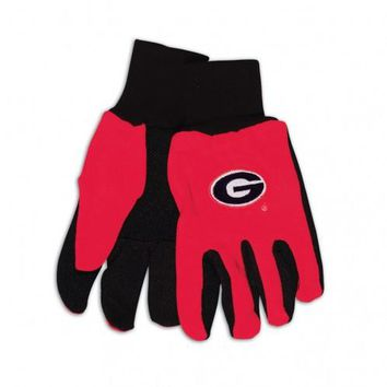 Georgia Bulldogs - Adult Two-Tone Sport Utility Gloves