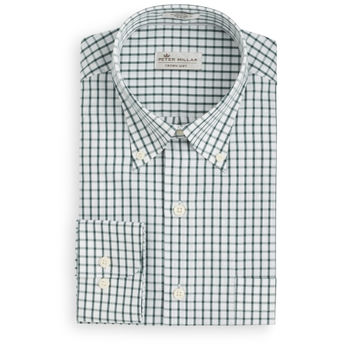 Crown Soft Nevada Tattersall Sport Shirt
