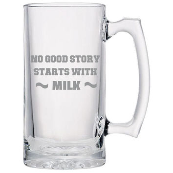 No Good Story Beer Mug, Beer Gifts, Gift Idea For Beer Lovers, Dad Gifts, Man Gifts, Fathers Day Gift   Beer Mug   Beer Stein