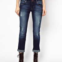 Warehouse Distressed Boyfriend Jean