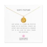 Saint Michael Necklace, Gold Dipped | Dogeared
