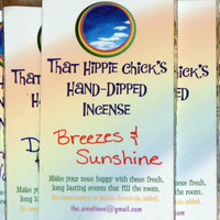 Breezes & Sunshine Hand-Dipped Incense Sticks