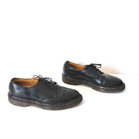 size 8.5 doc martens / GRUNGE low rise patent leather creepers minimalist classic dr marten docs
