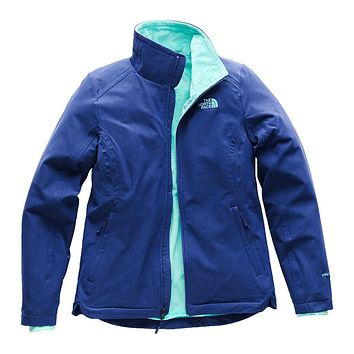 Women's Lisie Raschel Jacket in Sodalite Blue by The North Face - FINAL SALE