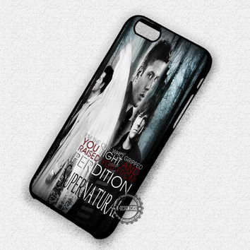 Supernatural's Quote Castiel - iPhone 7 6 Plus 5c 5s SE Cases & Covers
