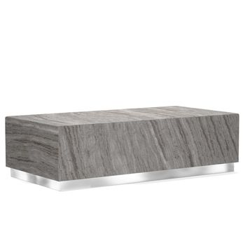 Travertine Rectangular Coffee Table