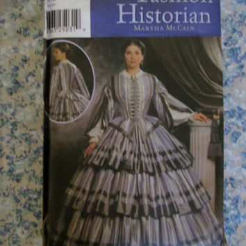 Uncut Simplicity Sewing Pattern, 9761! Size 6-12 Women's/Misses, Historical Dress/Costume, Victorian/Civil war/Reenactment, Gone w/ Wind