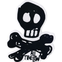 All Time Low Skull Sticker