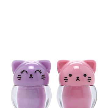 Cat Lip Gloss Set