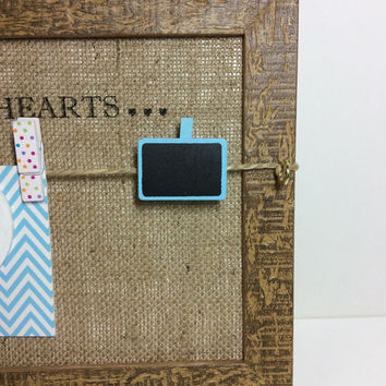 Pet loss gift, A4 Pet sympathy frame, Pet memorial peg board, Forever in our Hearts, Pet TAG display, Rainbow Bridge frame, peg photo board