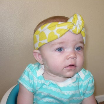 Baby Headwrap Baby Girl Headband Baby Top Knot Headband Girl Hairband Toddler Bandana Infant Headband Newborn Headband Kids Goodtreasures123