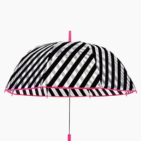 Kate Spade Stripe Umbrella Black/White Stripe ONE